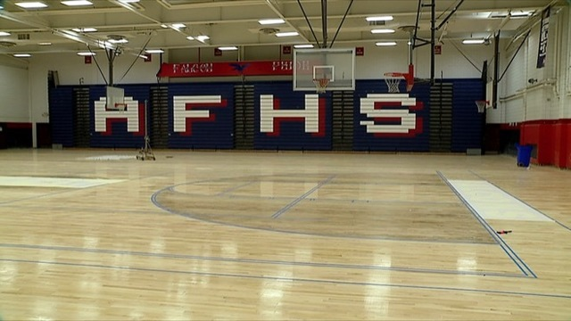 Repairs to warped Austintown Fitch gym floor almost complete