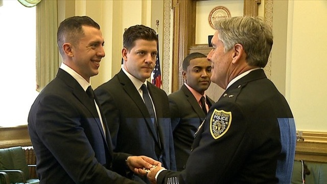 Youngstown Police Department swears in 3 new officers
