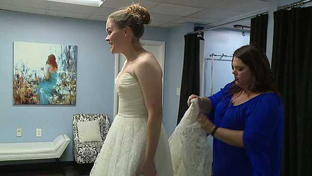 e963405cb07 Girard bridal shop gives vets free wedding dresses to honor service