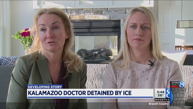 Michigan doctor detained by ICE after 40 years in US