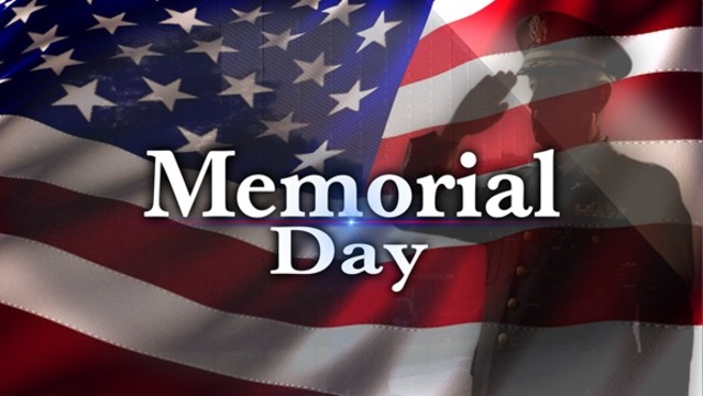 Memorial Day events 2018