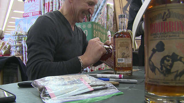Youngstown boxing legend releases 'round two' of Boom Boom Bourbon