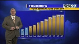 WATCH: 45°F swing in temps this week