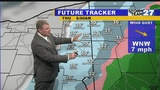 WATCH: Turning colder with rain mixing to snow