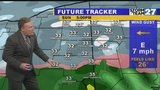 WATCH: Timing Sunday snow headed our way
