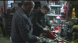 14-year old business owner pursues passion of repairing small engines