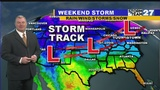 WATCH: Tracking the Weekend storm