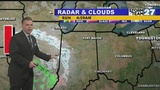 Slight chance for late day snow showers Sunday