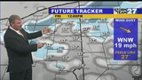 Colder with some snow Friday