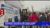Kennedy Catholic returns home after 4th consecutive State Championship