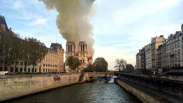 Notre Dame Cathedral Fire 2