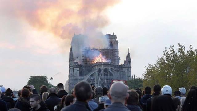 Notre Dame Cathedral Fire 5