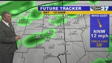 Unsettled Saturday with showers