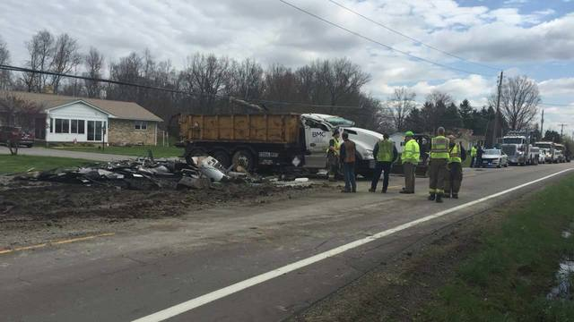 Crash on 165 in Green Township 2
