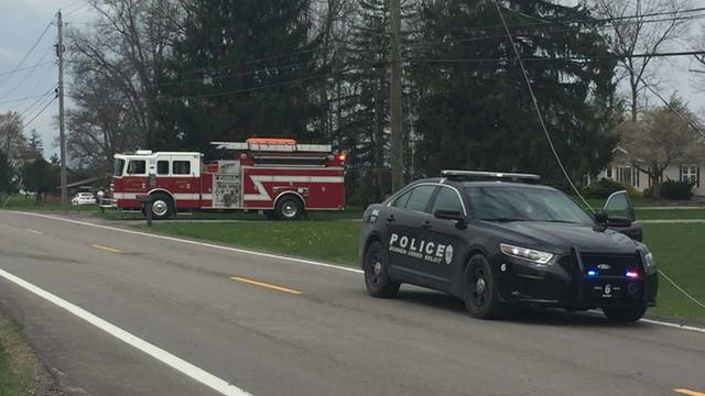Crash on 165 in Green Township 3