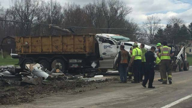 Crash on 165 in Green Township 4