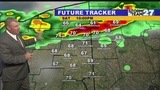 Warm/Humid and Stormy at times this weekend