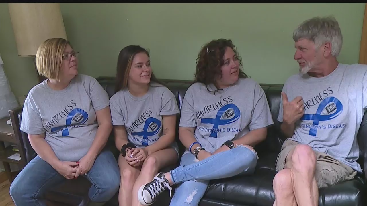 Girard Family Sheds Light On Living With Huntington's Disease